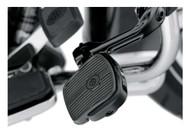 Harley-Davidson® Mini Footboard Kit, Large 4.0 inch - Black Finish 50500124 - Wisconsin Harley-Davidson