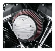 Harley-Davidson® Airflow Air Cleaner Trim - Chrome, Multi-Fit Item 61400323 - Wisconsin Harley-Davidson