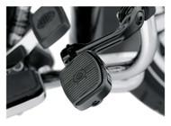 Harley-Davidson® Mini Footboard Kit, Small 3.0 inch - Black Finish 50500144 - Wisconsin Harley-Davidson