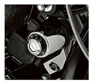Harley-Davidson® Ignition Switch Cover - Chrome, Fits 04-13 XL Models 71527-04 - Wisconsin Harley-Davidson