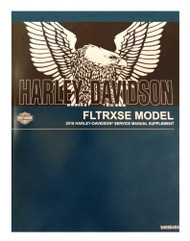 Harley-Davidson® 2018 FLTRXSE Supplement Model Motorcycle Service Manual 94000455 - Wisconsin Harley-Davidson