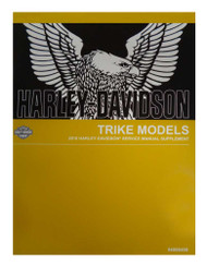 Harley-Davidson® 2018 Trike Supplement Models Motorcycle Service Manual 94000458 - Wisconsin Harley-Davidson