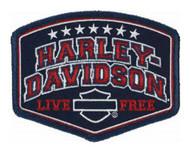 Harley-Davidson® Embroidered Harley Pride Emblem Patch, SM 4 x 3.0625 in EM299842 - Wisconsin Harley-Davidson