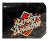 Harley-Davidson® Core H-D Logo Ceramic Mini Hog Bank - Gloss Black HDX-99103 - Wisconsin Harley-Davidson