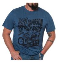 Harley-Davidson® Men's Speed Racer Premium Short Sleeve T-Shirt, Ensign Blue - Wisconsin Harley-Davidson