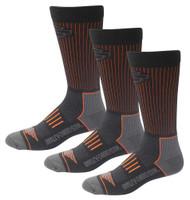 Harley-Davidson® Men's Compression Coolmax Riding Socks, 3 Pairs D99219070-001 - Wisconsin Harley-Davidson