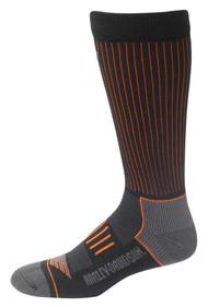 Harley-Davidson® Men's Striped Compression Coolmax Riding Socks D99219170-001 - Wisconsin Harley-Davidson