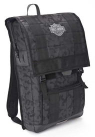 Harley-Davidson® 24/7 Nightvision Multi-Functional Backpack, Black 99217 - Wisconsin Harley-Davidson