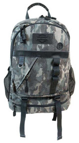 Harley-Davidson® Camo Print Canvas Bar & Shield Utility Backpack MC2719S-CAMO - Wisconsin Harley-Davidson