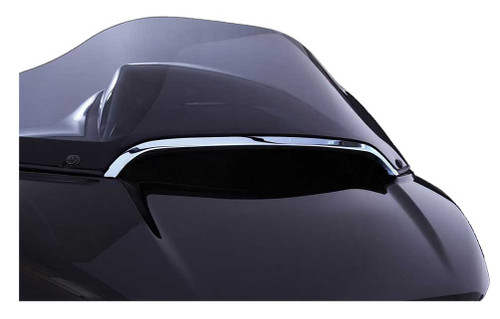 Ciro Center Windshield Trim, Fits H-D Road Glide Models - Chrome or Black Finish - Wisconsin Harley-Davidson