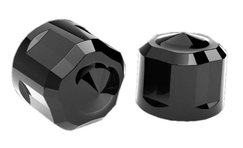 Ciro Diamond Cut Low Crown Bolt Cap Kit (53pk) for Harley - 2 Finishes Available - Wisconsin Harley-Davidson