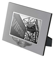Harley-Davidson® Core Winged Bar & Shield Picture Frame - 5x7 Photo HDX-99107 - Wisconsin Harley-Davidson