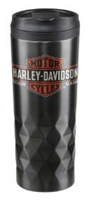 Harley-Davidson® Core Trademark Logo Stainless Steel Travel Mug HDX-98612 - Wisconsin Harley-Davidson