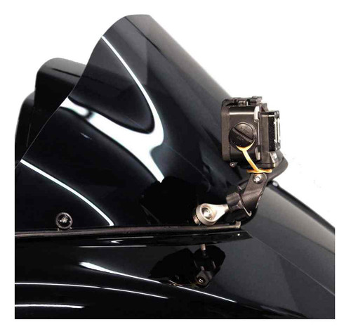 Ciro Action Camera Adapter for 15-up H-D Road Glide - Stainless Steel 50137 - Wisconsin Harley-Davidson
