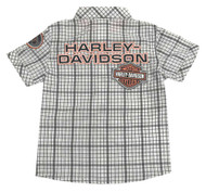 Harley-Davidson® Baby Boys' Plaid Shirt & Black Denim Pant 2-Piece Set 2061809 - Wisconsin Harley-Davidson