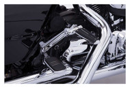 Ciro Adjustable Passenger Comfort Peg Mounts - Multi-Fit Item, Chrome or Black - Wisconsin Harley-Davidson