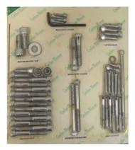Gardner & Westcott Complete Motor Allen Head Screw Set, Harley-Davidson® C-20-93 - Wisconsin Harley-Davidson