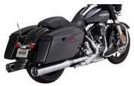 Vance & Hines Oversized 450 4.5 in. Slip-On Mufflers, H-D Glide Models 1801-0749 - Wisconsin Harley-Davidson