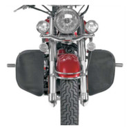 Hopnel Engine Guard Covers with 2 Pouches, For Harley-Davidson® 1624-0144 - Wisconsin Harley-Davidson