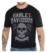 Harley-Davidson® Men's Crafted Skull Crew-Neck Short Sleeve T-Shirt, Black - Wisconsin Harley-Davidson