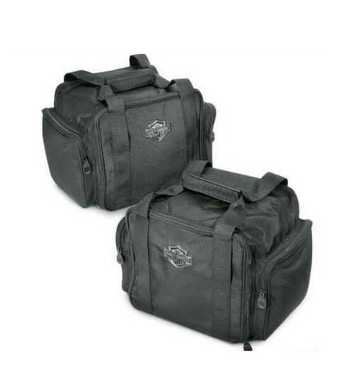 Harley-Davidson® Bar & Shield Zippered Trunk Travel Packs, Set of 2 83847-09 - A