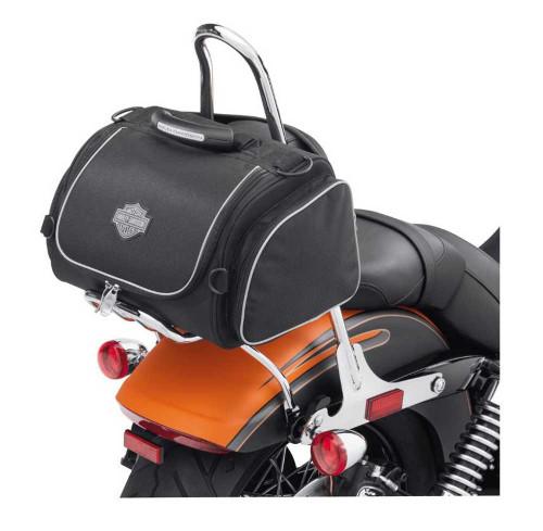 Harley-Davidson® Bar & Shield Zippered Premium Touring Day Bag Black 93300017