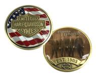 Harley-Davidson® Originals Challenge Coin, Bar & Shield Est. 1903 Coin 8003456 - Wisconsin Harley-Davidson