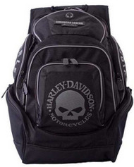 Harley-Davidson® Mens Skull Backpack BP1924S-BLACK - Wisconsin Harley-Davidson