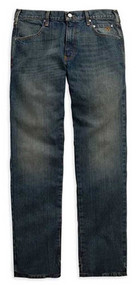 Harley-Davidson® Men's Modern Straight Jeans Dark Wash Denim. 99004-15VM - Wisconsin Harley-Davidson