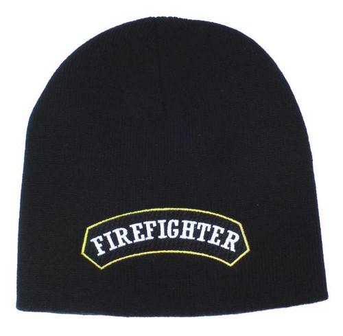 Harley-Davidson® Firefighter 3D Knit Cap Black KN126830 - A
