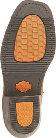 Harley-Davidson® Women's Brown Leather Auburn Harness Stud Motorcycle Boot D85432 - Wisconsin Harley-Davidson