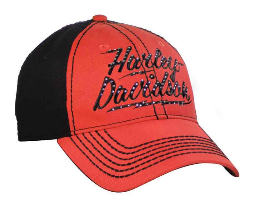 Harley Davidson 174 Women S Baseball Cap Studded H D