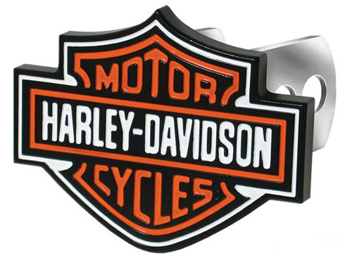 Harley-Davidson® Bar & Shield Hitch Plug, 1-1/4-Inch and 2-Inch Brackets P2216