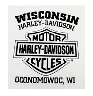 Harley-Davidson® Men's Shirt, Heritage H-D Script Long Sleeve, White 30296634 - A