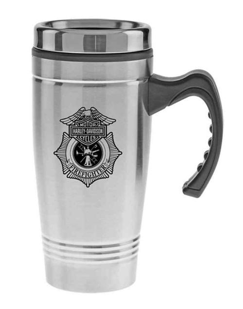 Harley-Davidson® Firefighter Original Auto Mug, Stainless Steel 18 oz. MG1265