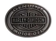 Harley-Davidson® Men's Belt Buckle Genuine Motor Oil Bar & Shield HDMBU10662 - Wisconsin Harley-Davidson