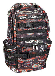 Harley-Davidson® Night Ops Stellar Backpack, Black 99214-VINTAGE - A