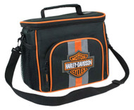 Harley-Davidson® Bar & Shield Insulated Lunch Tote, Shoulder Strap, Black 7180537 - Wisconsin Harley-Davidson