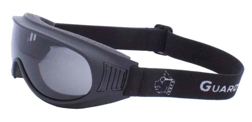 Guard-Dogs Commander I Motorcycle Dry Eye Goggles, Smoke Lens, Black 050-12-01