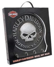 Harley-Davidson® Sculpted 3D Willie G Skull Key Rack, Textured Finish HDL-15313 - Wisconsin Harley-Davidson