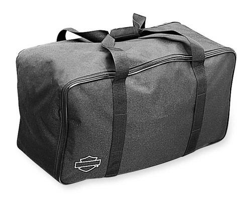 Harley-Davidson® Bar & Shield Zippered King Tour-Pak Travel Bag Black 53605-97 - Wisconsin Harley-Davidson