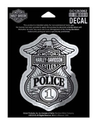 Harley-Davidson® Police Original Decal, Small Size Sticker DC1263062