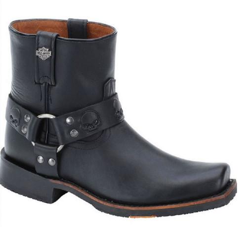HarleyDavidson Mens Thornton 625Inch Black Slate or Brown Boots D93257