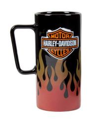 Harley-Davidson® Fire Reflective Bar & Shield Tall Coffee Mug HD-HD-1411