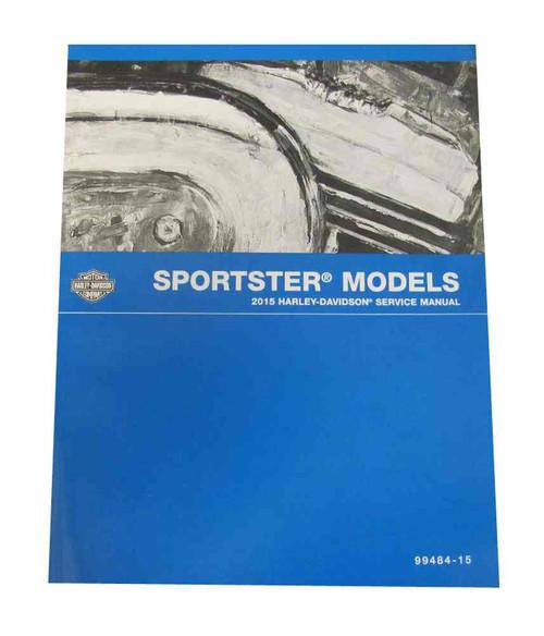 Harley-Davidson® 1995-1996 XL Sportster Models Motorcycle Service Manual 99484-96