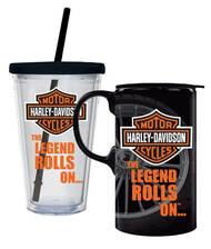 Harley-Davidson® Bar & Shield Logo Hot & Cold Drinkware Set, 2 Pack, P4214900LEG - Wisconsin Harley-Davidson