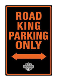 Harley-Davidson® Embossed Road King Motorcycle Packing Only Tin Sign 2011011 - Wisconsin Harley-Davidson
