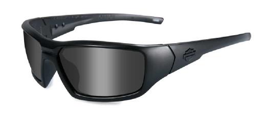 Harley-Davidson® Censor Grey Lens w/ Matte Black Frame Sunglasses HDCEN01