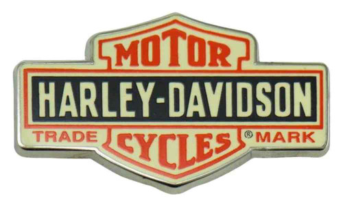 Harley-Davidson® Classic Elongated Bar & Shield Vintage Pin, 1.5 x .75 in 139264