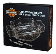 Harley-Davidson® Bar & Shield Snack Dish Set HDL-18533 - A